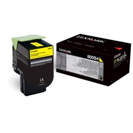 Lexmark Toner Yellow Cx310/510 80C8sy0