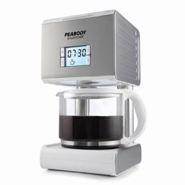 Peabody Cm2079s Cafetera Digital Silver